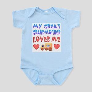 "Baby-Boy ""Great Grandmother"" Infant Bodysuit"