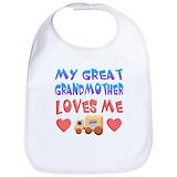 Great grandparent Cotton Bibs