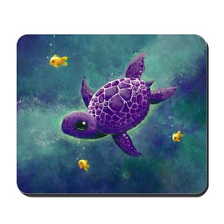 Sea turtle and friends Mousepad