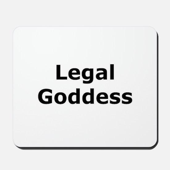 Legal Goddess Mousepad