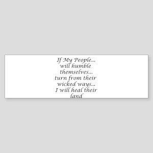 if my people Bumper Sticker