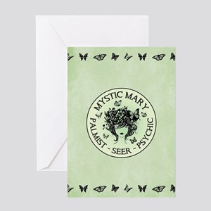 MYSTIC MARY Greeting Cards