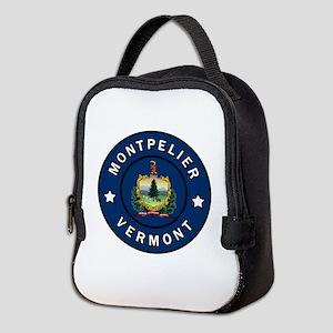 Montpelier Vermont Neoprene Lunch Bag