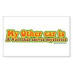 Mystery Van Sticker