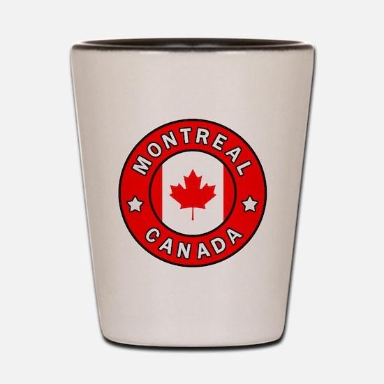 Cute Montreal Shot Glass