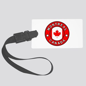 Montreal Canada Large Luggage Tag