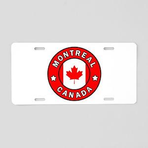 Montreal Canada Aluminum License Plate