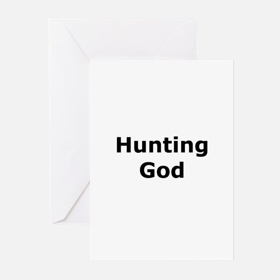 Hunting God Greeting Cards (Pk of 10)