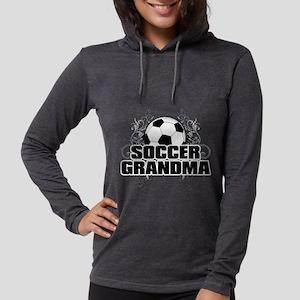 Soccer Grandma (cross) Long Sleeve T-Shirt