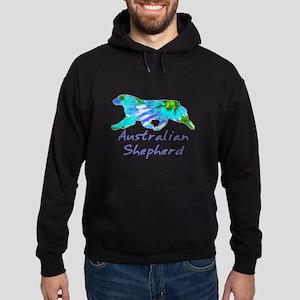 purple light and dark aussie gifts! Sweatshirt