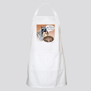 Mini Schnauzer Turkey BBQ Apron