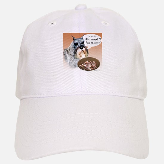 Mini Schnauzer Turkey Baseball Baseball Cap