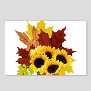 Fall Bouquet Postcards (Package of 8)