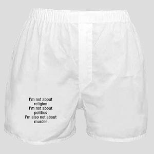 Abortion Boxer Shorts