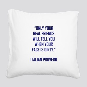 ONLY YOUR... Square Canvas Pillow