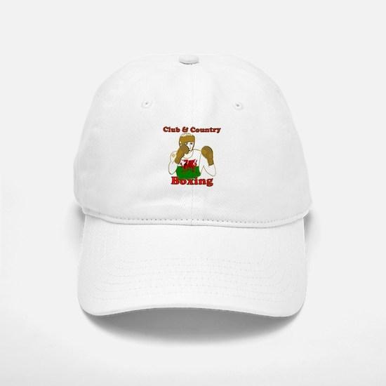 Wales club and country boxing Baseball Baseball Cap