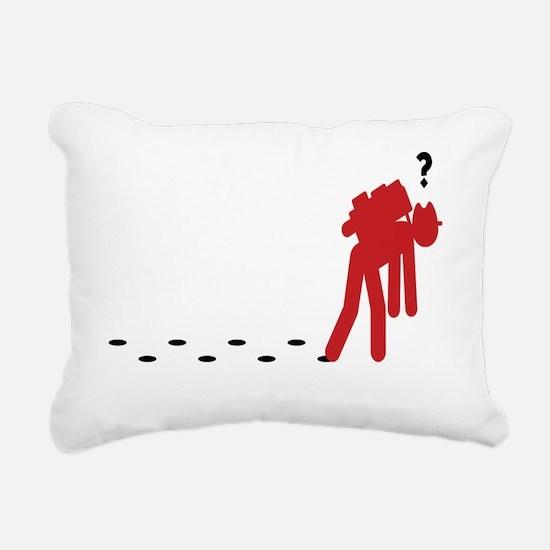 Women%27s scoop neck Rectangular Canvas Pillow