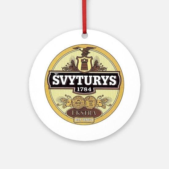 Svyturys Ornament (Round)