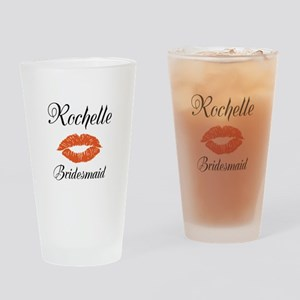Personalized Bridesmaid Drinking Glass