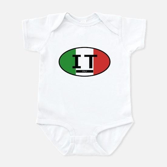 Italy Full Flag Infant Bodysuit