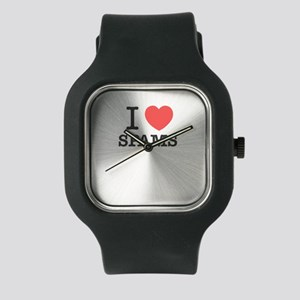 I Love SPAMS Watch