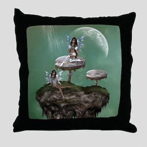 Dream Fairies Throw Pillow