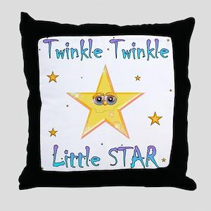 Twinkle Twinkle Little Star, Throw Pillow