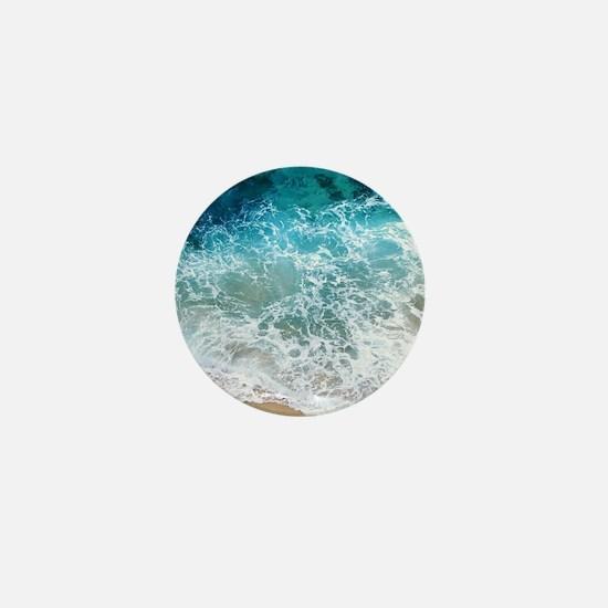 Water Beach Mini Button