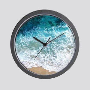 Water Beach Wall Clock