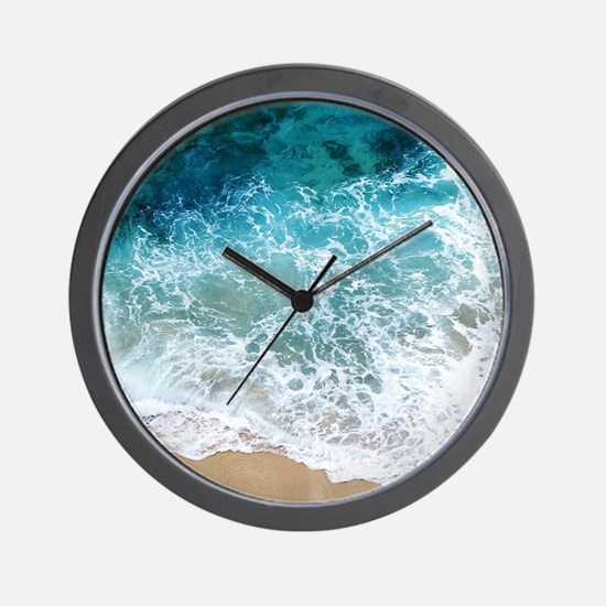 Water Beach Wall Clock