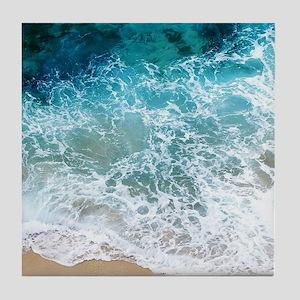 Water Beach Tile Coaster
