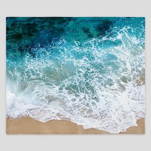Water Beach King Duvet
