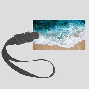 Water Beach Large Luggage Tag