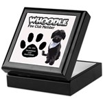 Whoodle Paw Club Member Keepsake Box