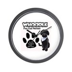 Whoodle Paw Club Member Wall Clock