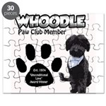 Whoodle Paw Club Member Puzzle