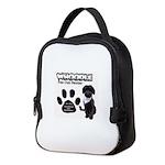 Whoodle Paw Club Member Neoprene Lunch Bag
