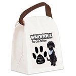 Whoodle Paw Club Member Canvas Lunch Bag