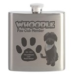 Whoodle Paw Club Member Flask
