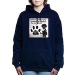 Whoodle Paw Club Member Women's Hooded Sweatshirt