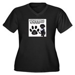 Whoodle Paw Club Member Plus Size T-Shirt