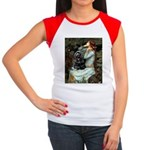 Ophelias Cocker Women's Cap Sleeve T-Shirt