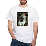 Ophelias Cocker White T-Shirt