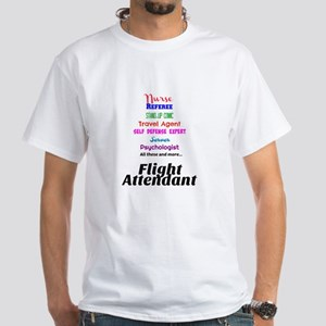 Flight Attendant Job Description T-Shirt
