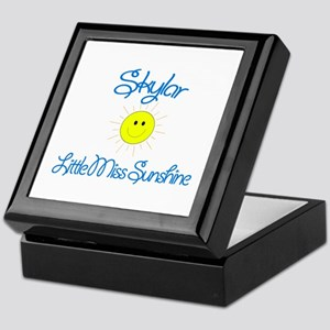 Skylar - Little Miss Sunshine Keepsake Box