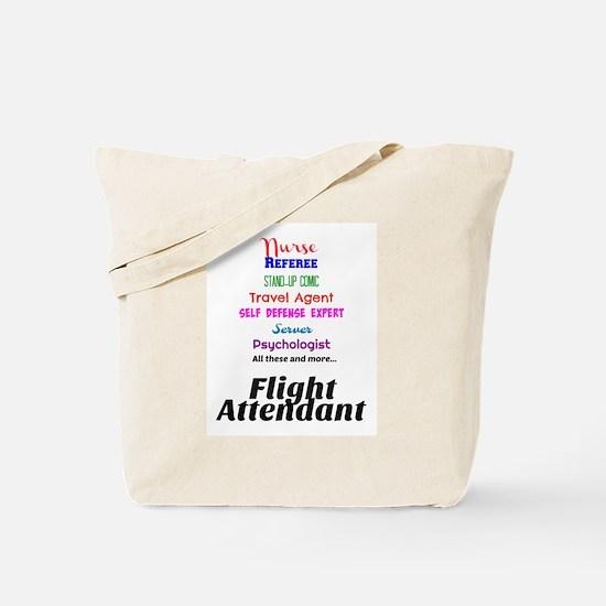 Flight Attendant Job Description Tote Bag