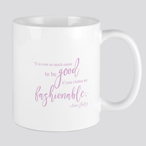 Anne Shirley {Pink} Mugs
