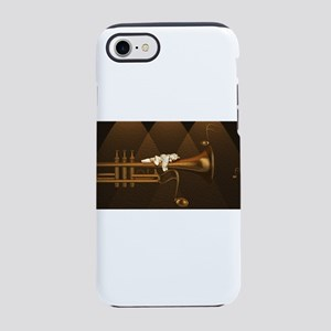 Cupid on a Trumpet iPhone 8/7 Tough Case