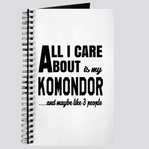 All I care about is my Komondor Dog Journal