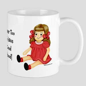 Red Rag Doll Mug